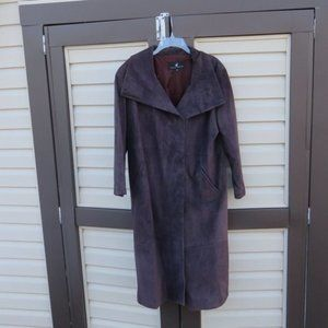 Peruvian Connection USA Leather Trench Coat